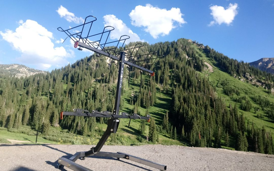 From a vertical hitch bike rack to a freestanding vertical bike rack