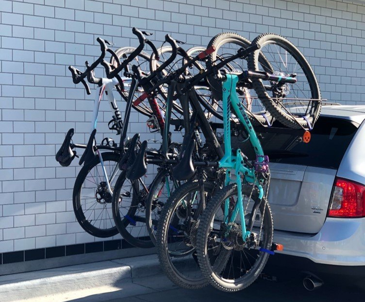 cycling, bike rack, road cycling, mountain biking, alta racks, alta six gpr, gpr, recon, north shore