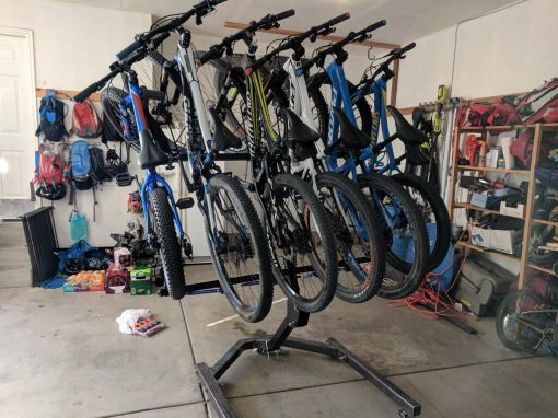 Garagestand, storage, garage, bikes,alta racks, alta six, four carrier, bike rack, bicycle, mountain bikes, road bikes, cycling, thule, yakima, kuat, riding, dirt, road, recon racks, lolo racks, all racks, vertical hitch racks, best rack, best bike rack, best bicycle rack, hitch, truck, shuttle, northshore racks, hangover, NSR, RR,