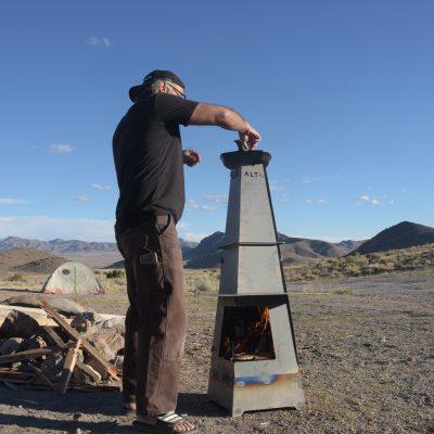 altaracks, altasix, gpr, fire pit, fire, camping, outdoor life, van life, bike rack, life rack, backyard, chiminayo,