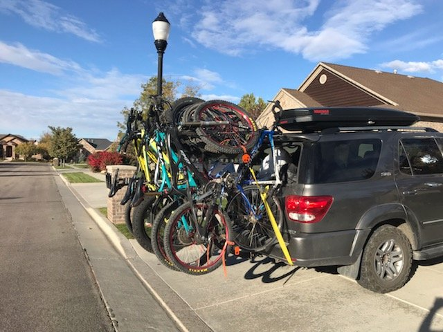six bicycle carrier, alta racks, alta six, bicycle, offroad, bike rack, rack, hitch, utah, Alta